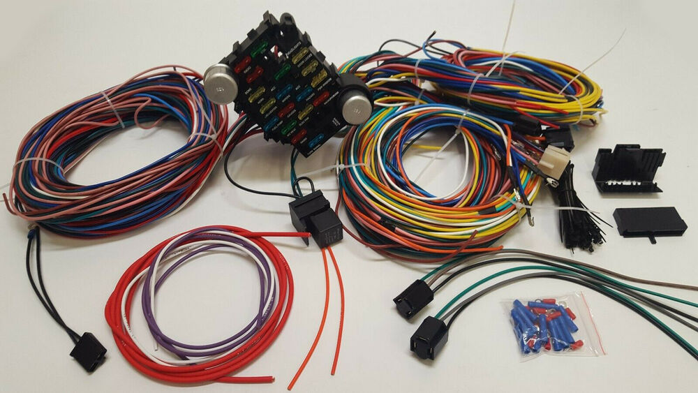 1966 mustang wiring harness ebay rh ebay com 1966 mustang wiring harness for sale 1966 mustang wiring harness painless