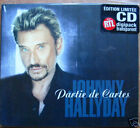 JOHNNY HALLYDAY - Partie de cartes DIGIPACK CD 2T TRANSPARENT