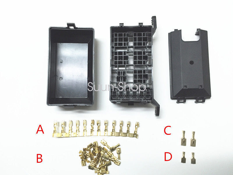 car auto fuse box 6 relay relay holder 5road the nacelle. Black Bedroom Furniture Sets. Home Design Ideas