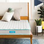 LINENSPA 6 inch Innerspring Mattress with Quilted Cover - Twin Full Queen King