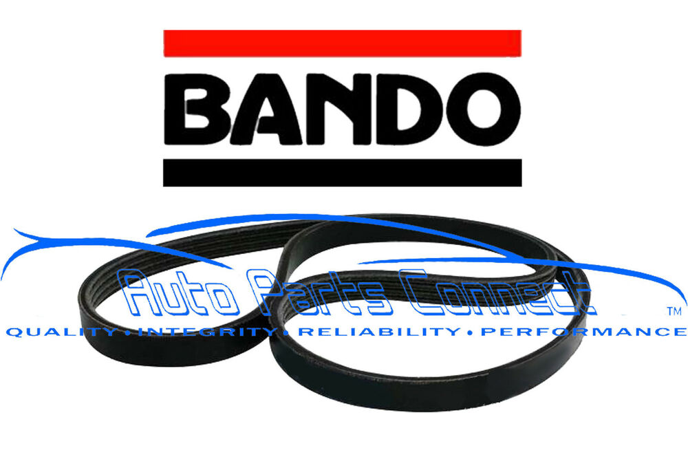 details about bando serpentine belt for honda accord 2003-2007 2 4l 4 cyl  drive new quality
