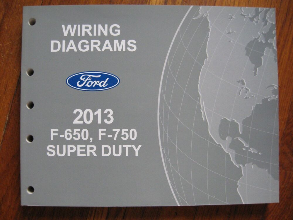 2013 ford f 650 750 super duty electrical wiring diagram 2005 f250 wiring diagram
