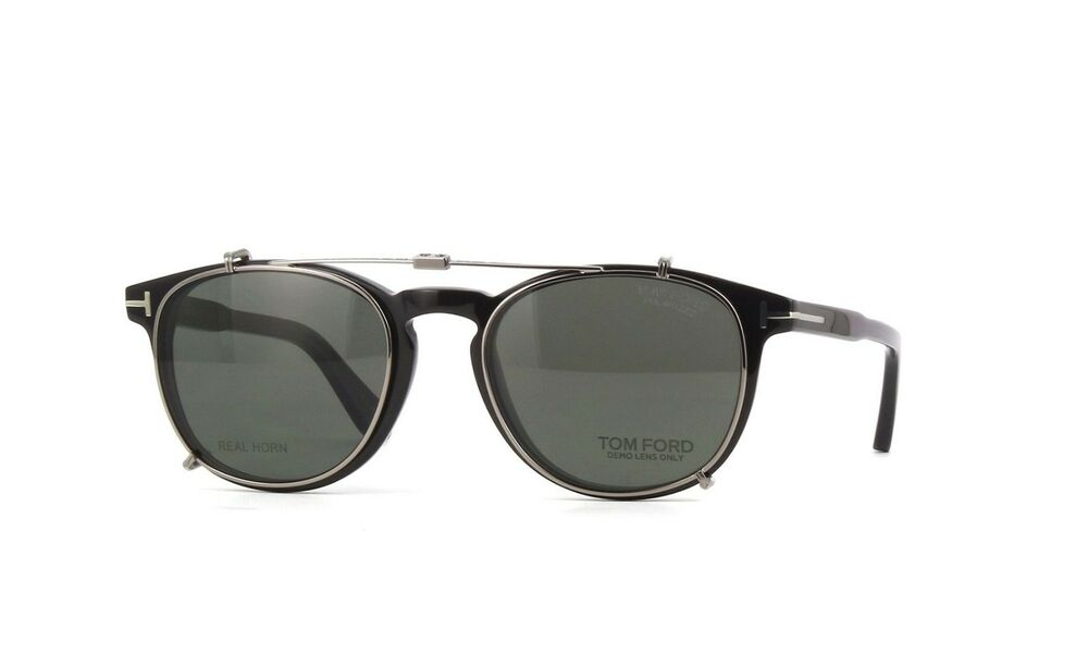 New Tom Ford Tom N.14 62R Private Collection Folding Polarized Clip ...