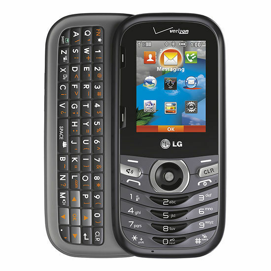 LG Cosmos 3 VN251S Cell phone Verizon Page Plus Red Pocket ...