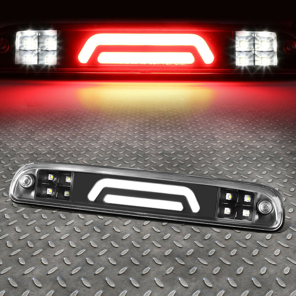 2001 Ford Econoline E350 Super Duty Cargo Transmission: FOR 99-16 FORD SUPER DUTY 3D LED BLACK THIRD 3RD TAIL