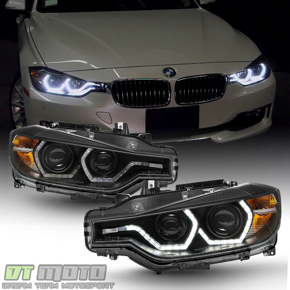 Bmw Xi 328: Black [F32 Style] 2012-2015 BMW F30 3-Series Sedan LED DRL