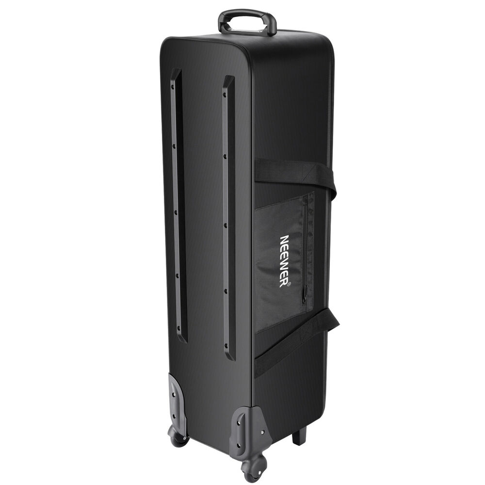 neewer carrying studio case equipment bag trolley light rolling camera stand umbrella photographic accessories