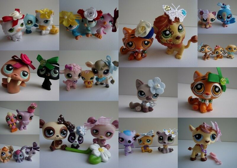 Littlest pet shop lps chien chat tigre singe panda etc lot au choix c ebay - Petshop tigre ...