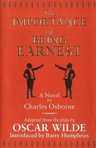 Importance Of Being Earnest Book