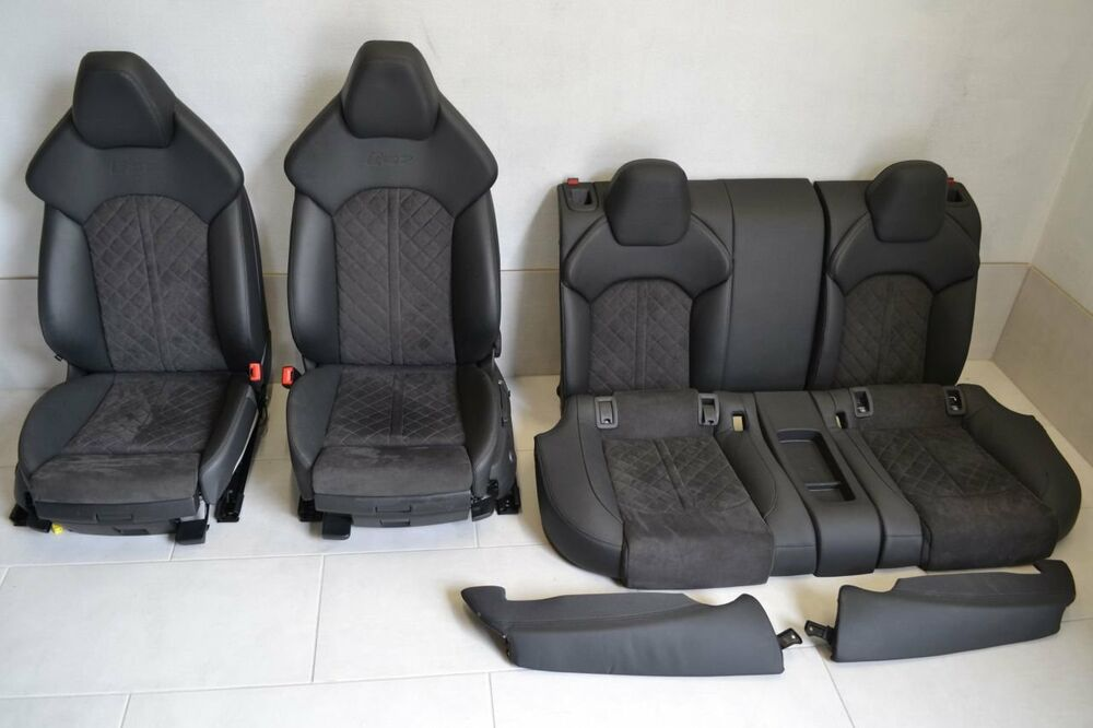original audi rs7 a7 a6 4g sitzausstattung leder alcantara sitze a39491 ebay. Black Bedroom Furniture Sets. Home Design Ideas