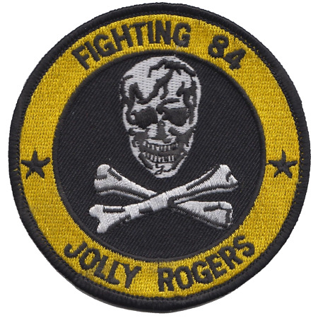 img-VF-84 Fighter Squadron 84 US Navy Round Embroidered Patch - LAST FEW