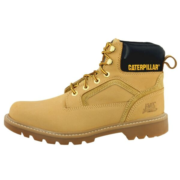 Cat Caterpillar Stickshift Boots Men Herren Stiefel honey P712704 Colorado