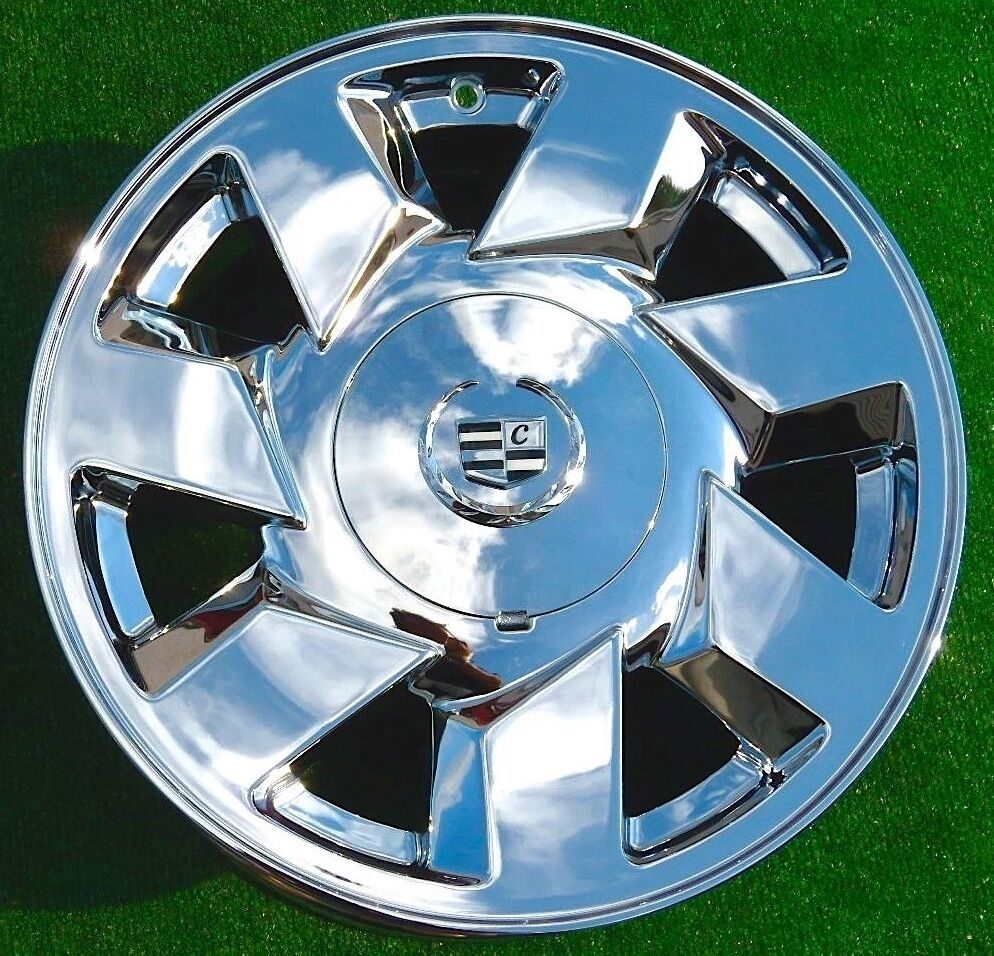 4 NEW Chrome Cadillac Deville DTS 17 Inch EXACT OEM SPEC
