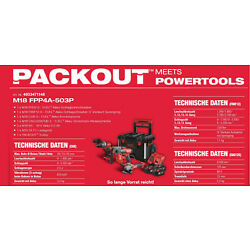 Milwaukee M18FPP4A-503P FUEL POWERPACK IN2