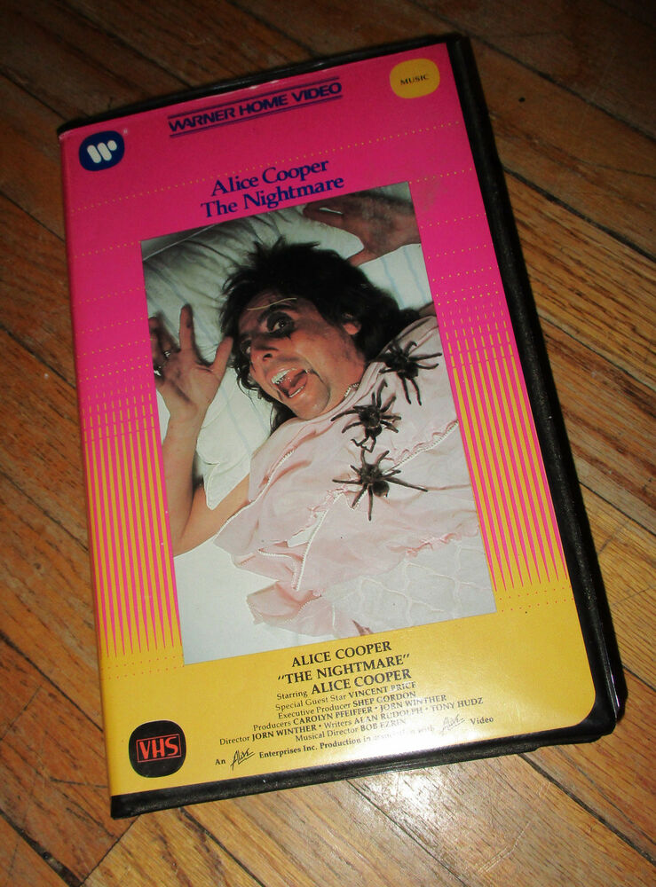 Oop Rare Divination Tarot Cards Unused Sealed Deck By: ALICE COOPER THE NIGHTMARE TV SPECIAL VHS Original Rare