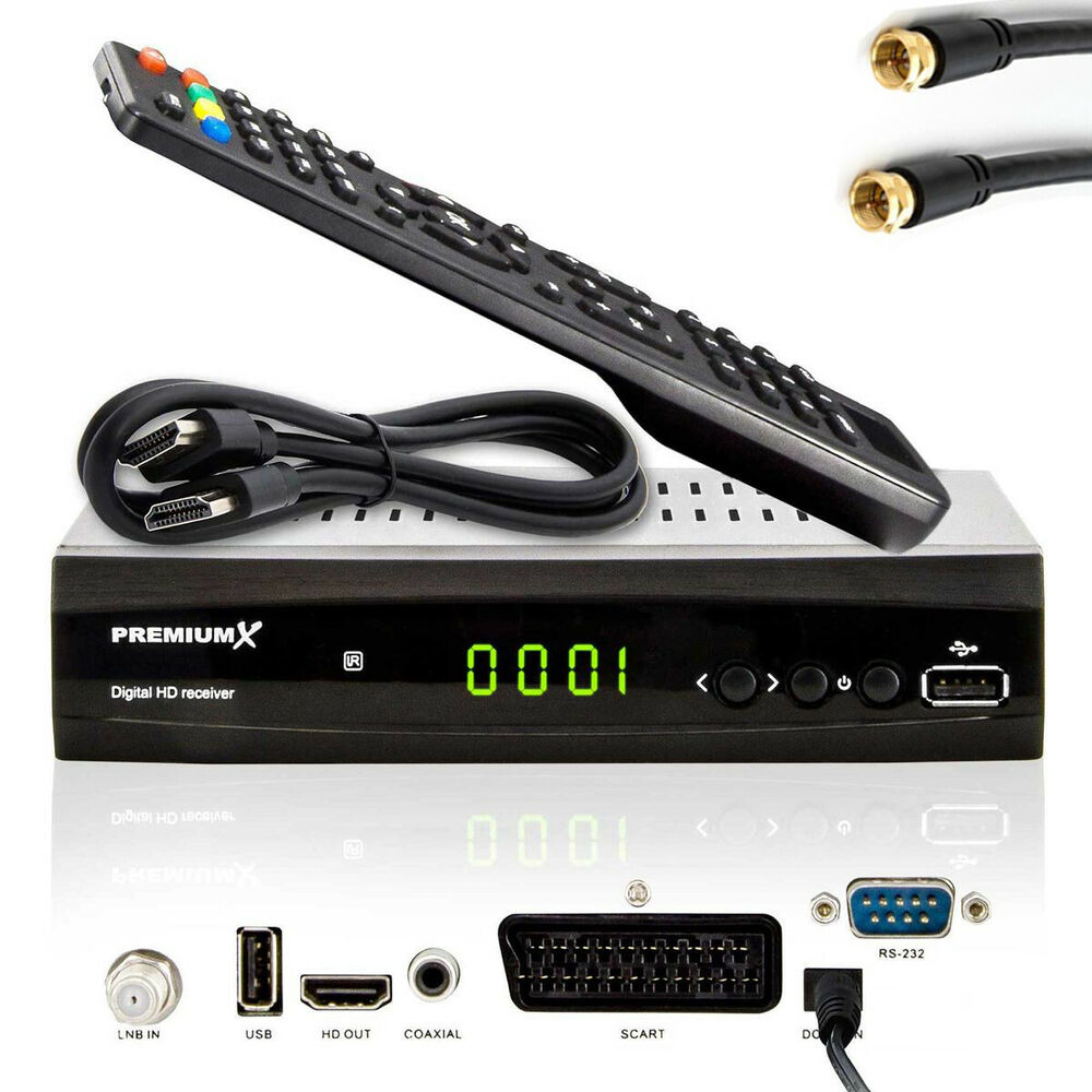 hdtv hd full digital sat tv receiver premiumx 500 fta hdmi dvb s2 1080p 2x usb ebay. Black Bedroom Furniture Sets. Home Design Ideas