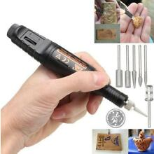 15pcs DIY Electric Engraving Engraver Pen Carve Tool For Jewelry Wood Glass