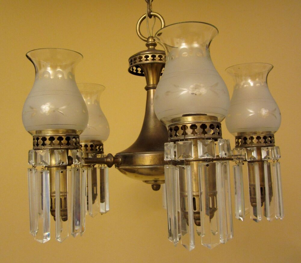 Creepy chandelier page 3 fallcreekonline source vintage lighting 1930s colonial set by lightolier 1 chandelier 3 mozeypictures Gallery