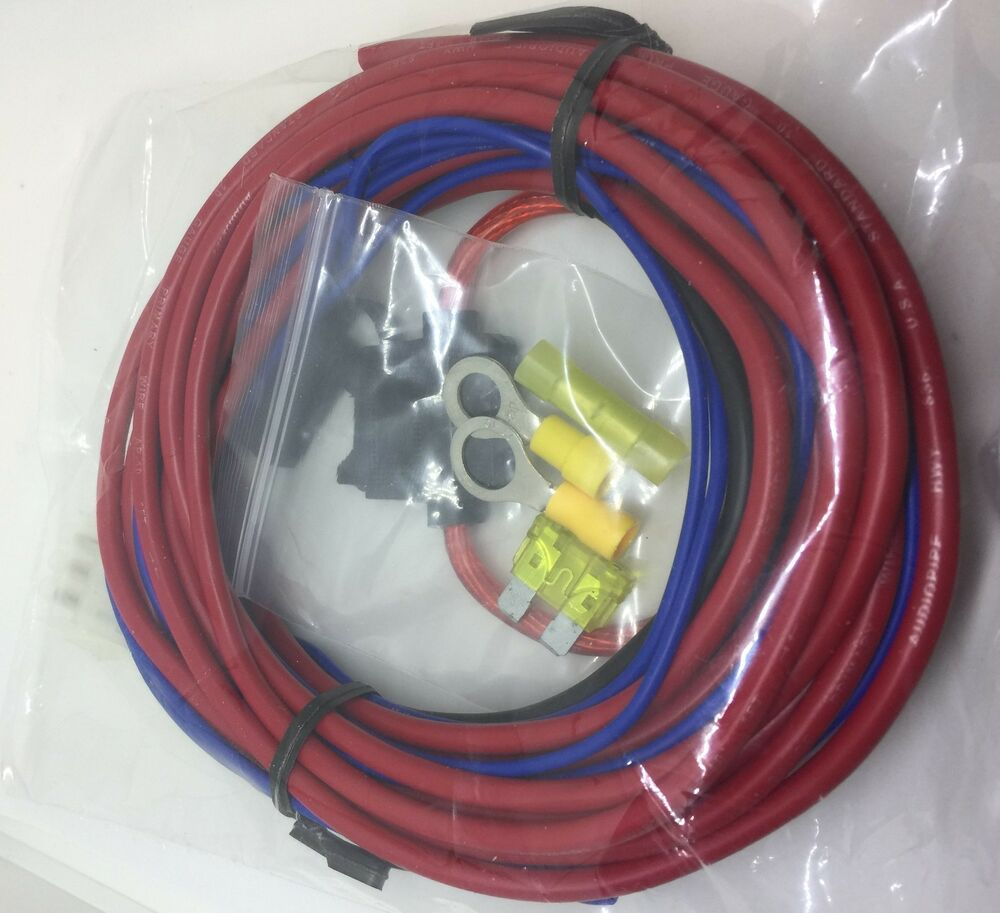 Mtx Thunderform 3 Pin Power Ground Remote Harness Plug17ft For The Kicker Bass Station Wiring Built In Amps 609728847098 Ebay