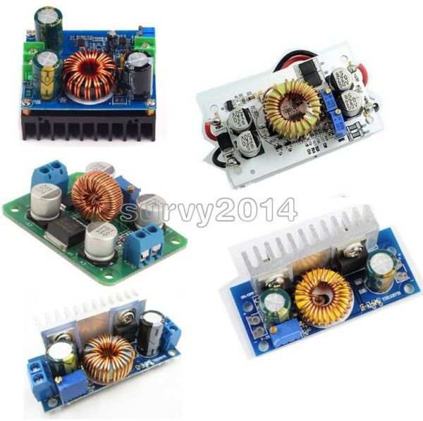 DC-DC Boost Converter Step Up Step Down Power Adjustable Portable Charger