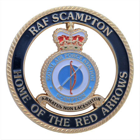 img-RAF Scampton - Home Of The Red Arrows Diamond 9 Royal Air Force Celebration Coin