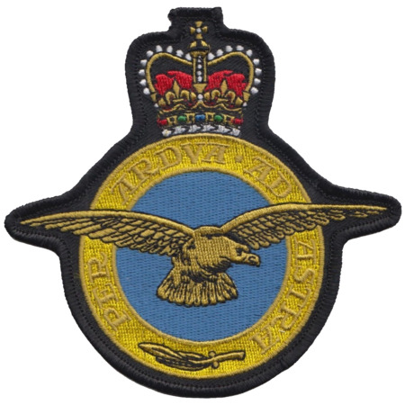 img-Royal Air Force RAF Insignia Crest MOD Embroidered Patch