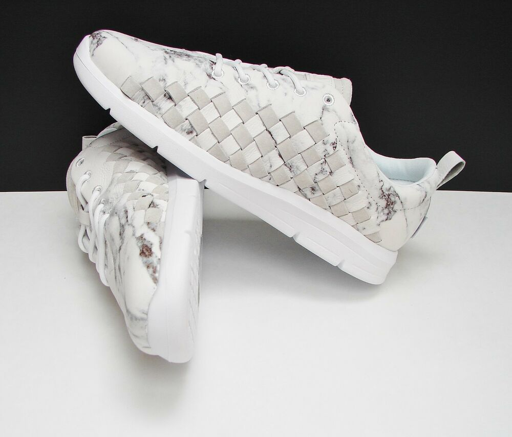 3a53e233a2cd06 Details about Vans Tesella Marble White Print White VN0VOAFHY Men s Size  10