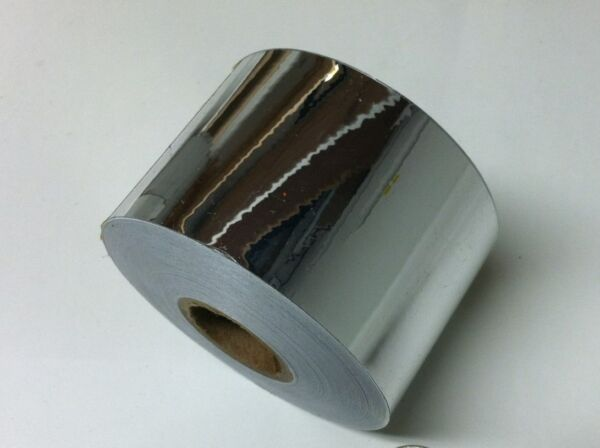SuperBrite  Chrome Tape, pick your size.  Near-Mirror Finish, Metallized Mylar