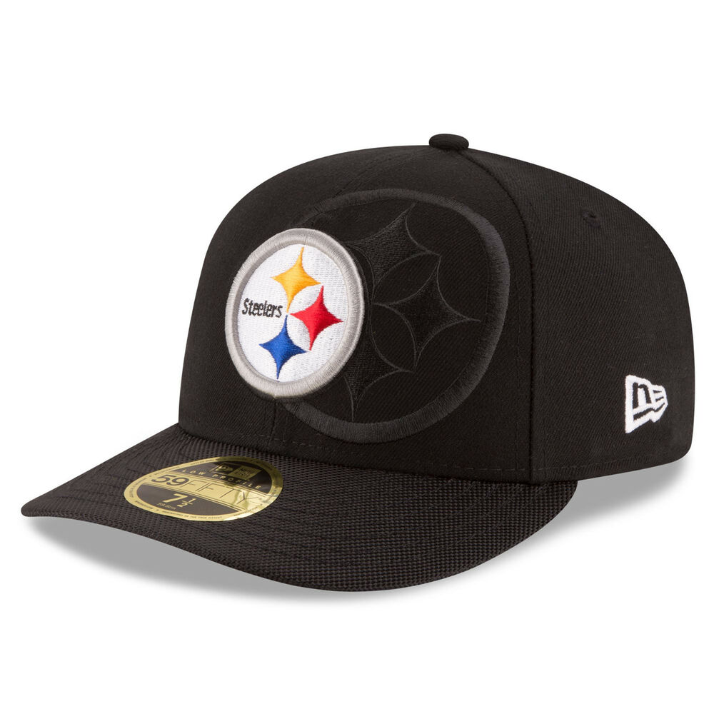 Details about PITTSBURGH STEELERS NFL OFFICIAL SIDELINE NEW ERA 59FIFTY LOW  PROFILE HAT NWT 80865202491