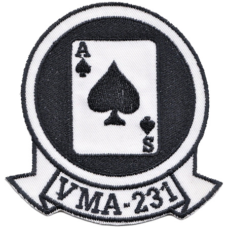 img-Marine Attack Squadron 231 VMA-231 US Marine Corps USMC Embroidered Patch