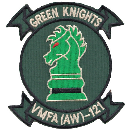 img-Marine All-Weather Fighter Attack Squadron VMFA(AW)-121 USMC Embroidered Patch