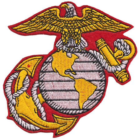 img-United States Marine Corps USMC Symbol - Eagle, Globe & Anchor Embroidered Patch