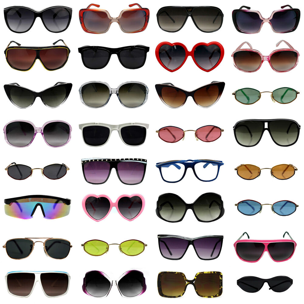 151504a404a Details about Bulk Wholesale Sunglasses Lot of 10 to 150 Pairs Assorted  Styles Men Women Kids