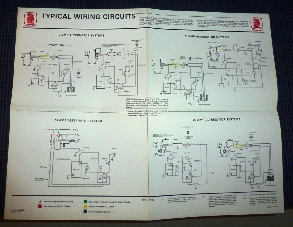 Details About Teseh Typical Wiring Circuits Wall