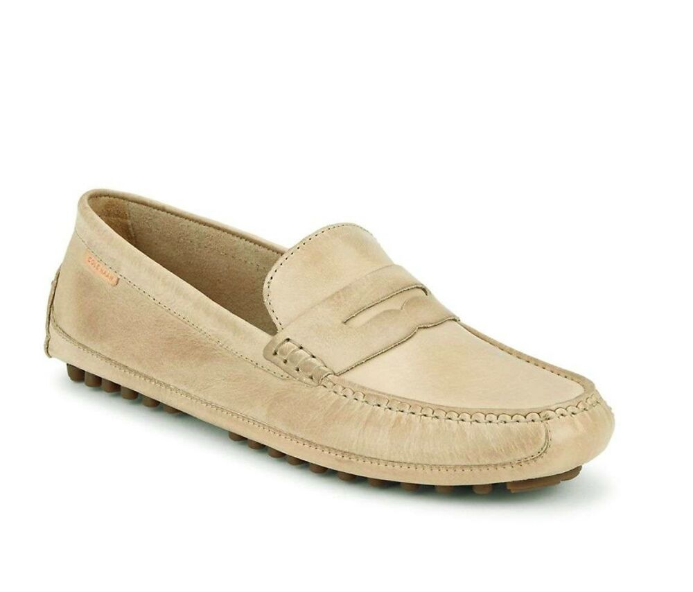 9e7d638d01e Details about Men Casual Shoes Cole Haan Coburn Penny Driver II Leather  Loafers Barley Tan