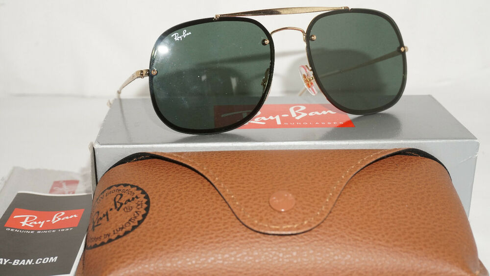 a7ffa774b7 Details about RAY BAN Sunglasses BLAZE THE GENERAL Gold G-15 RB3583N 905071  58 145