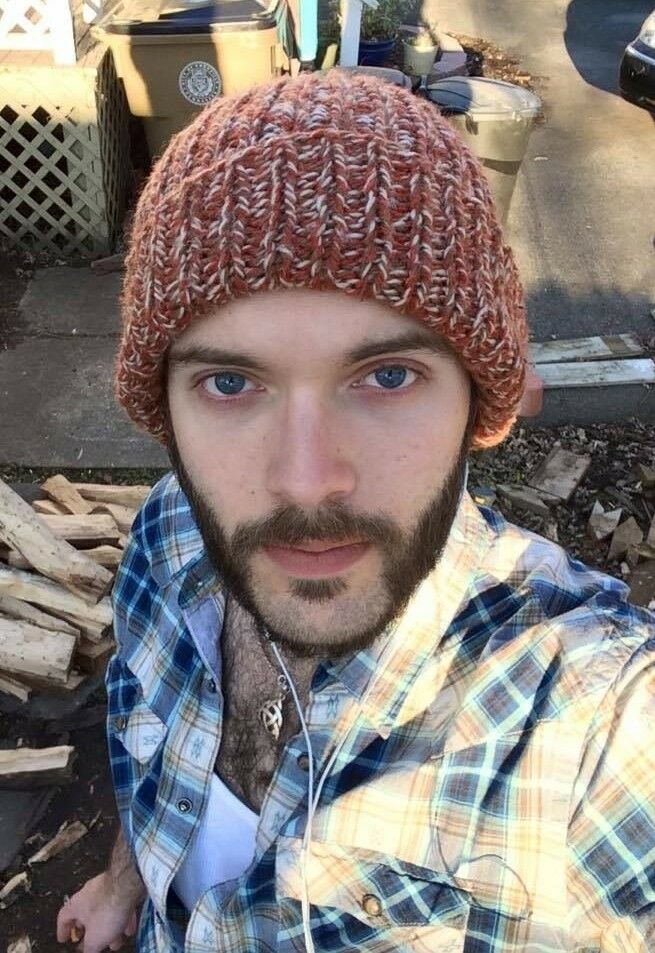 Details about Male Hunk Bearded Lumber Jack Hairy Chest Handsome Dude Close  Up PHOTO 4X6 C522