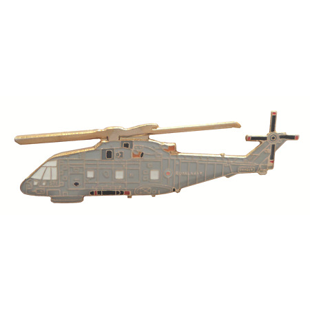 img-AgustaWestland AW101 Merlin Helicopter Royal Navy RN Pin Badge