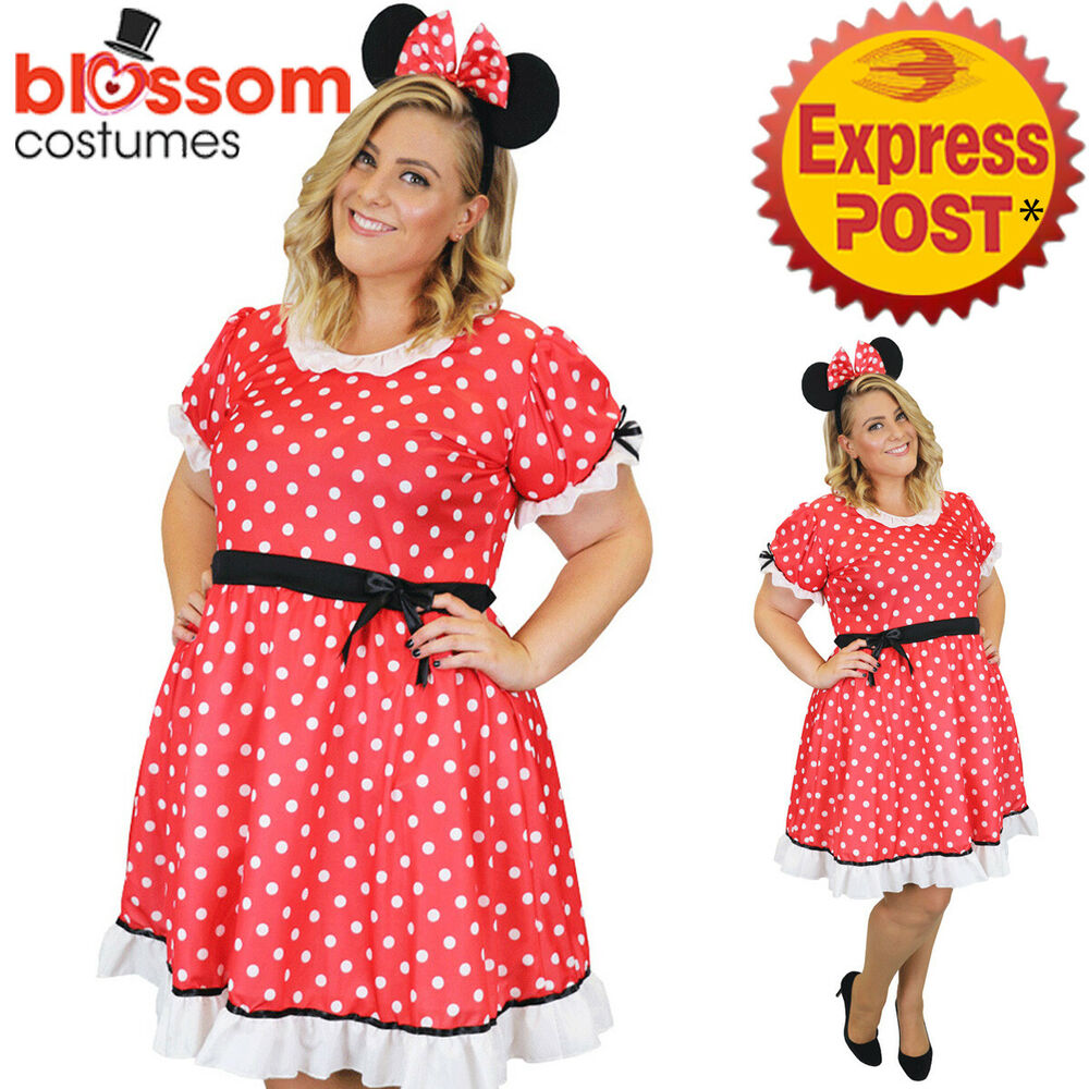 Minnie Mouse Fancy Dress Plus Size Uk