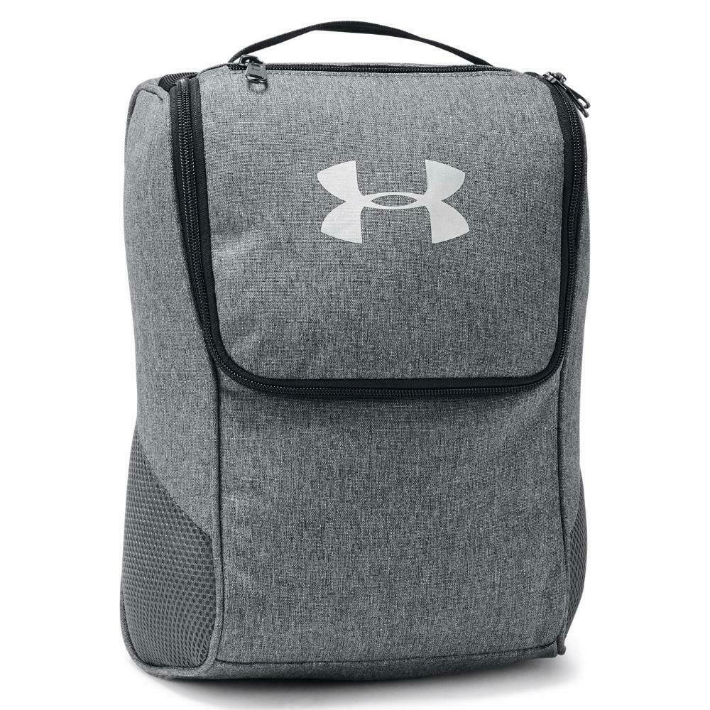 91a8b77f9997 Details about Under Armour Golf 2019 Shoe Bag   Football Boot Bag (Grey)
