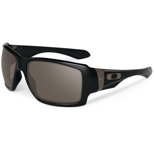 e2522a9c03f Details about OAKLEY SUNGLASSES BIG TACO POLISHED BLACK FRAME WARM GREY  LENSES 009173-01 NEW
