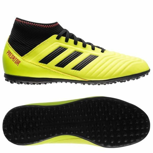 the best attitude b915b 4132f Details about adidas Predator 18.3 Tango TF Turf 2018 Soccer Shoes Kids -  Youth Yellow Black