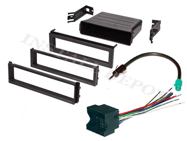 Volkswagen Wiring Harness Stereo : Vw car stereo cd player radio dash installation trim