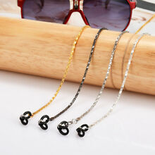 2PCS Eyeglass Reading Spectacles Sunglasses Glasses Cord Holder Necklace Chain
