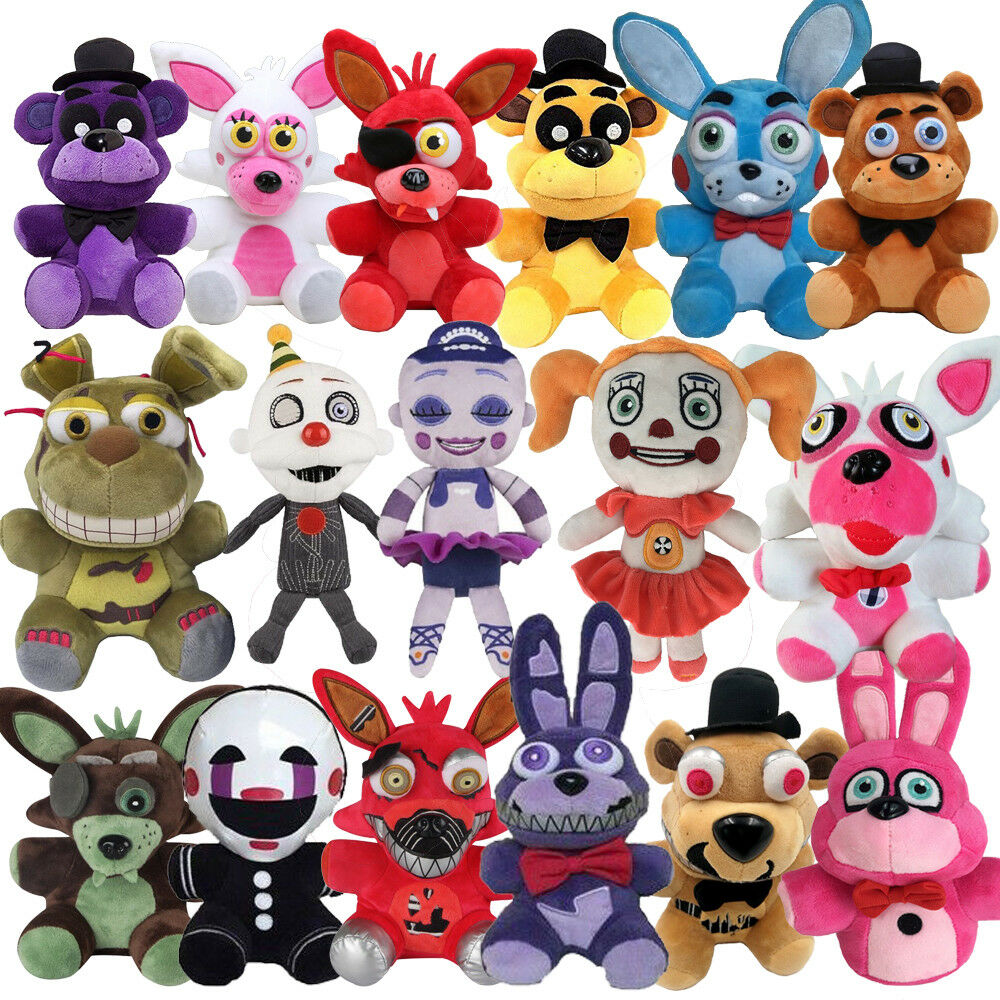 "FNAF Five Nights At Freddy's Plush Stuffed Toy 6"" Plush"