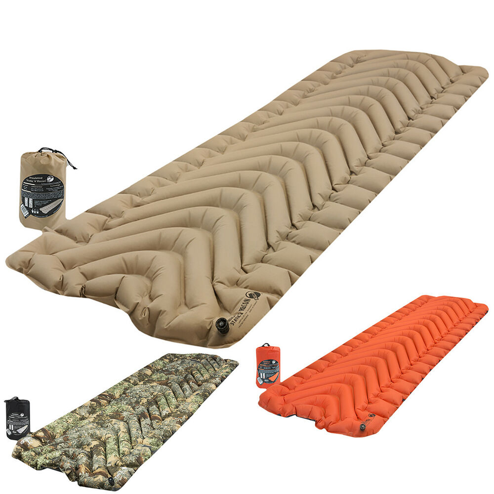 Klymit Insulated Static V Inflatable 4 Season Sleeping Pad