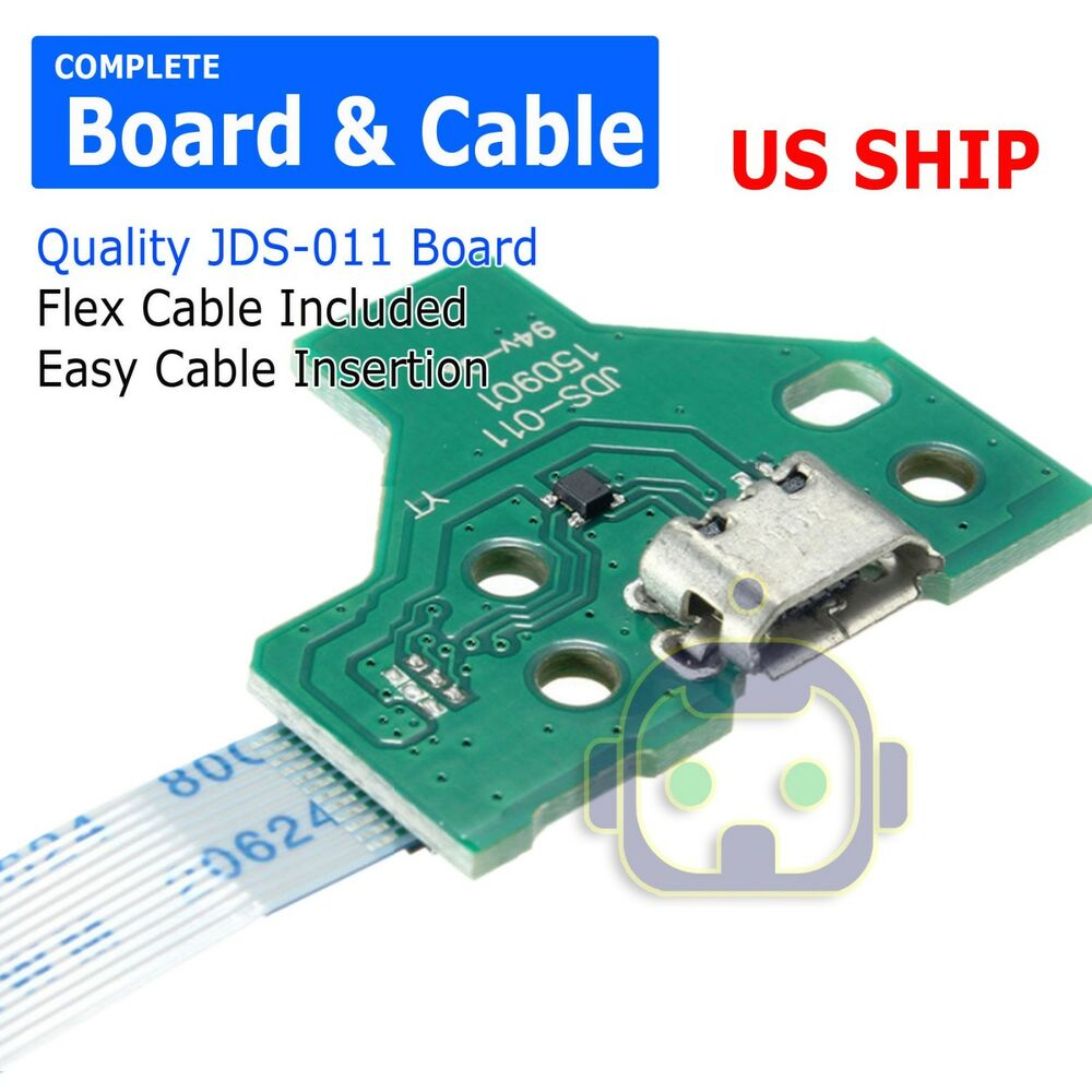 12 Pin Charge Port Jds 011 Board Flex Cable For Ps4 Controller Ujdm Pic Programmer Circuit Is A Which Suitable To Do Simple A221 Ebay