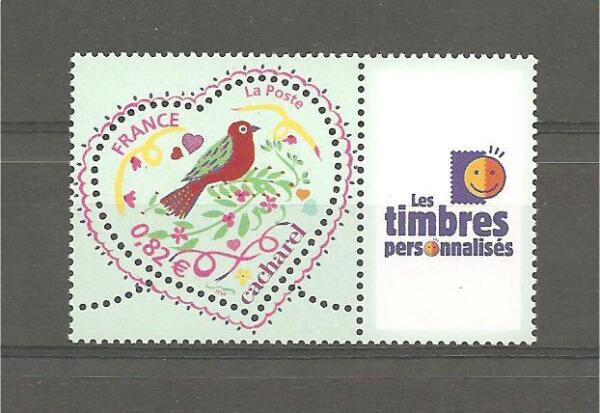 TIMBRE PERSONNALISE N°3748A - Logo (T. Pers)