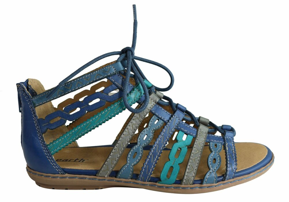 dd46f062e11 Details about Earth Tidal Womens Comfortable Leather Gladiator Flat Sandals