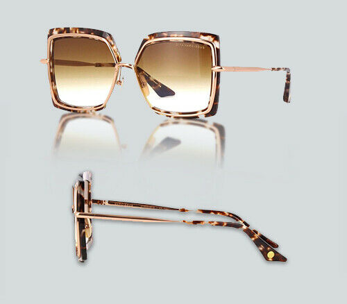 7bc4255d381 Authentic Dita Narcissus DT 503 02 Tortoise Rose Gold Sunglasses